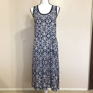 Splendid Blue Midi Tank Dress Size Small